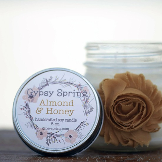 Almond and Honey Soy Candle
