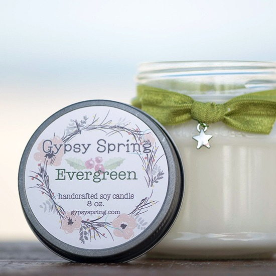 Evergreen Soy Candle