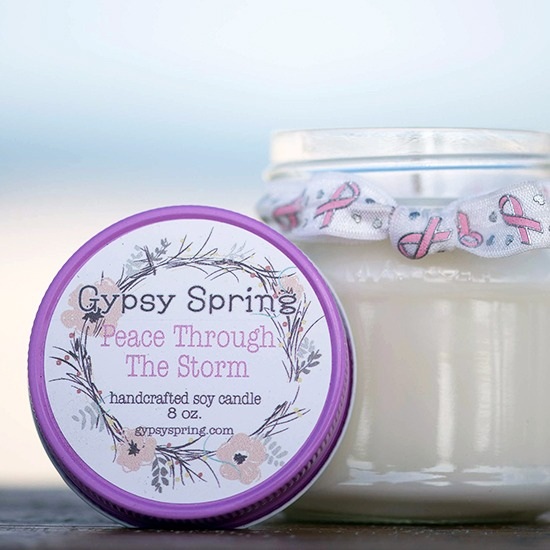 Breast Cancer Awareness Soy Candle