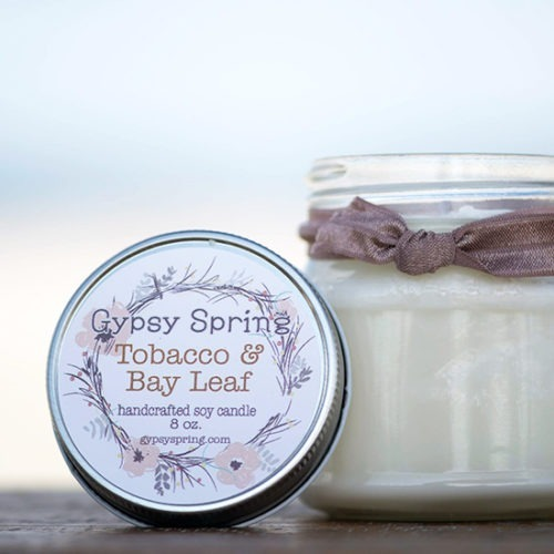 Tobacco and Bay Leaf Soy Candle