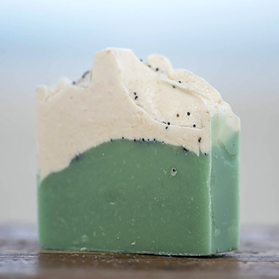 Lemongrass and Poppyseed Goat Milk Soap