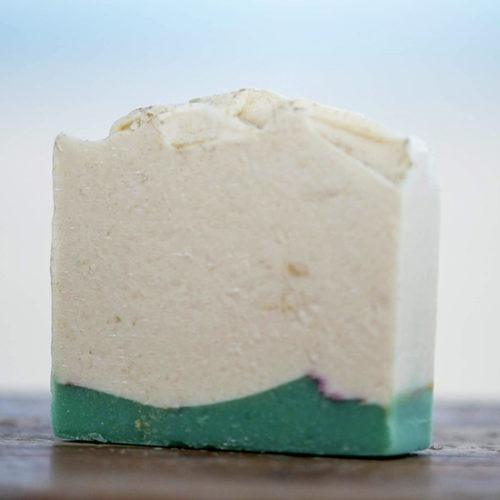 Cucumber and Green Tea Goat Milk Soap